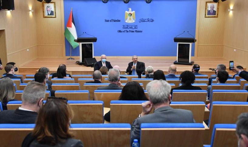 اشتية يطالب بإجراء الانتخابات في القدس وإرسال مراقبين دوليين