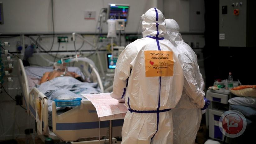 الصحة الإسرائيلية: 12 وفاة بكورونا و2,835 إصابة جديدة