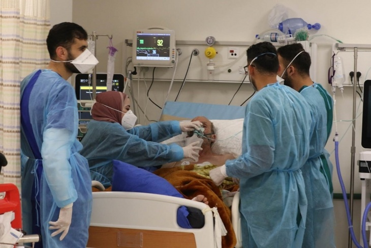 الصحة: 19 وفاة و1826 اصابة جديدة بكورونا في فلسطين