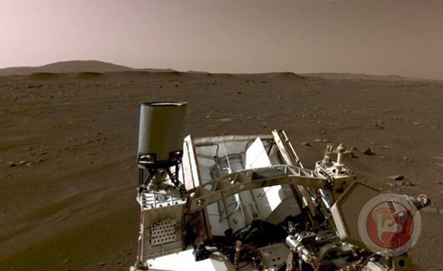 ناسا تكشف عن أول فيديو وصوت من على سطح المريخ