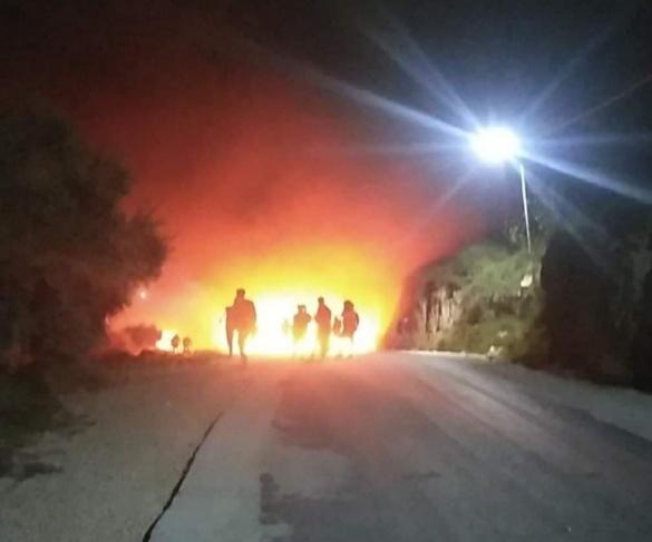 اصابات- مواجهات على جبل العرمة جنوب نابلس