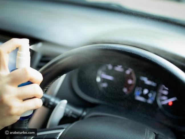 6 أماكن يعيش عليها فيروس كورونا في سيارتك لهذه المدة