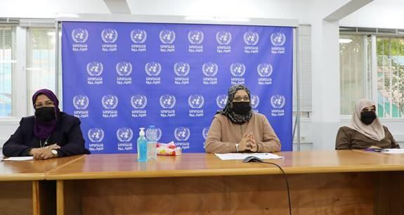 موظفات بالأونروا بغزة يشاركن بجلسة للجنة الأمم المتحدة المعنية بوضع المرأة