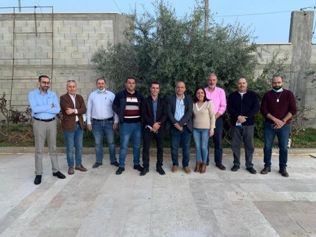 هيئة ادارية جديدة لنادي ارثوذكسي بيت جالا