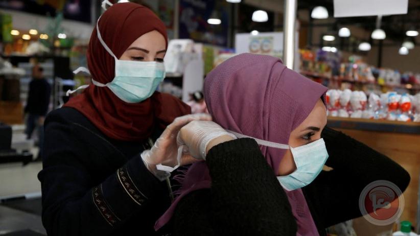 غزة: 6 وفيات و1912 اصابة جديدة بكورونا