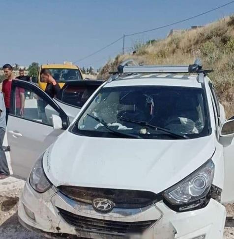 اصابة 4 مواطنين في حادث سير ذاتي شرق بيت بحم