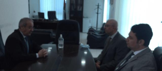 تيسير خالد يستقبل القنصل المصري العام لدى فلسطين ويبحث معه التطورات السياسية