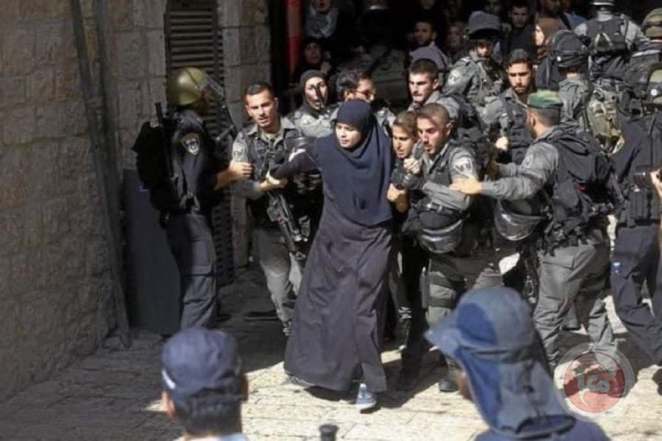 402 حالة اعتقال خلال شهر نيسان
