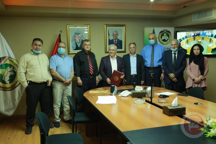 جامعتا القدس المفتوحة والإسلامية توقعان اتفاقية لإطلاق برنامج دكتوراه مشترك