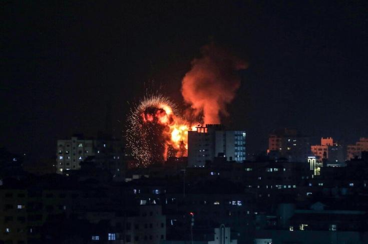 ثلاثة شهداء بقصف إسرائيلي على غزة
