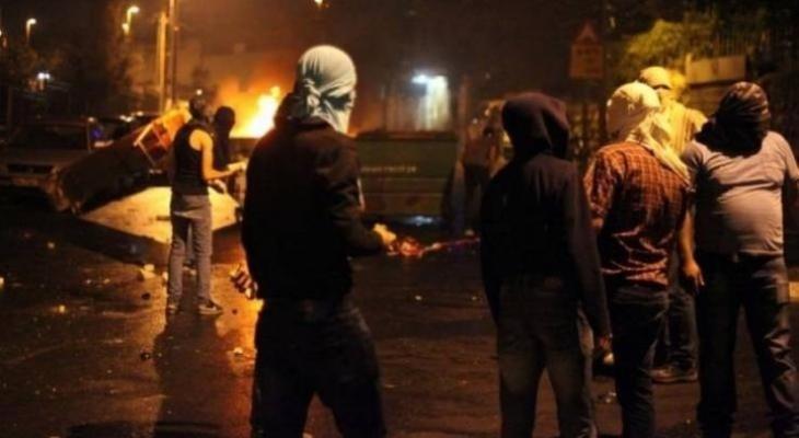 """اصابة شاب بالرصاص واعتقال 3 شبان خلال مواجهات """"الجلمة"""""""