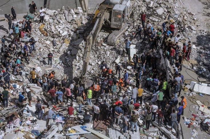 42 شهيدا في شارع الوحدة وقصف المنازل مستمر