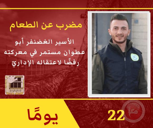 تدهور خطيرة على صحة الأسير غضنفر أبو عطوان