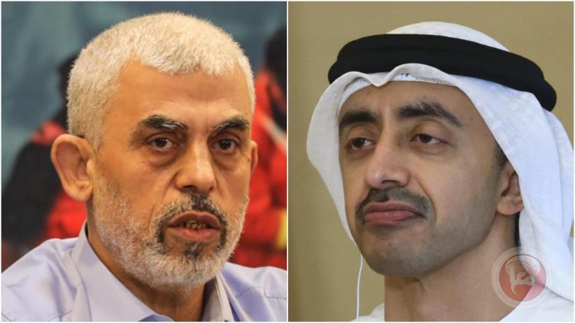 الإمارات: مستعدون للمساعدة في اعمار غزة بشرط عدم تدخل حماس