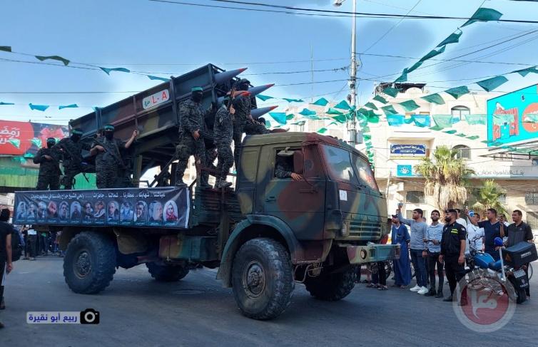 """""""القسام"""" تطلق صاروخاً تجريبياً نحو البحر"""