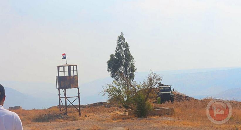 الجيش الإسرائيلي يدعي تدمير نقطة مراقبة سورية في الجولان