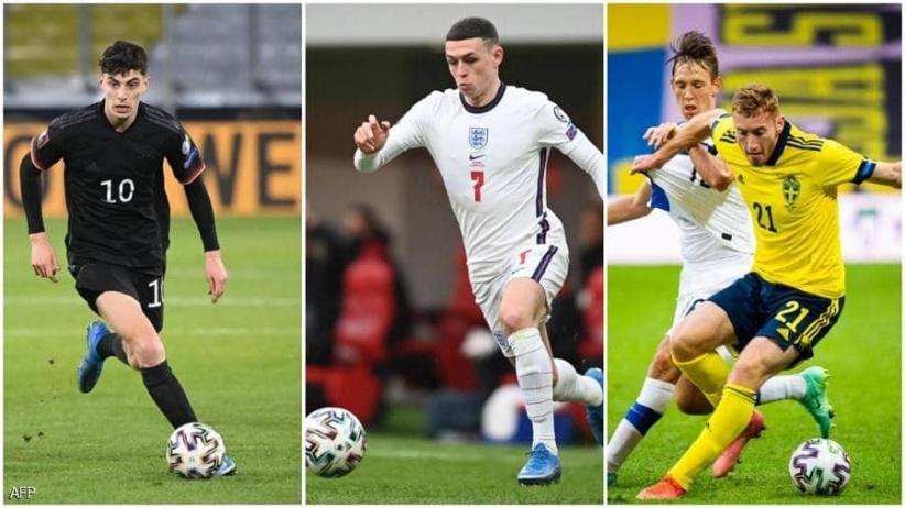 """""""بطولة الانفجار"""".. 5 نجوم صغار بأحلام كبيرة في يورو 2020"""