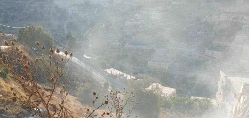 اطفائية بلدية الخليل تتعامل مع أكثر من 22 حريقا خلال 24 ساعة