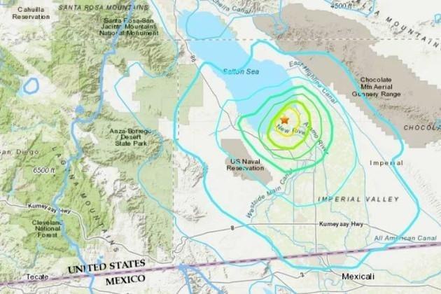 زلزال بقوة 5.3 درجة يضرب كاليفورنيا
