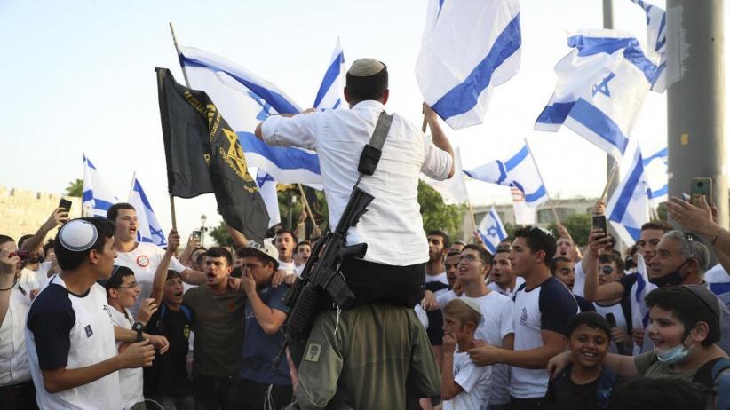 اسرائيل تقرر الموافقة على تنظيم مسيرة الأعلام في القدس