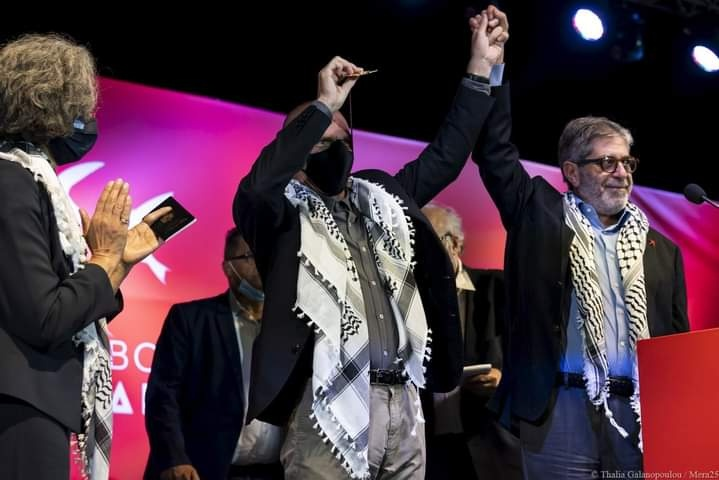 حزب ميرا 25 التقدمي يدعو للاعتراف بدولة فلسطين وفرض عقوبات ضد إسرائيل