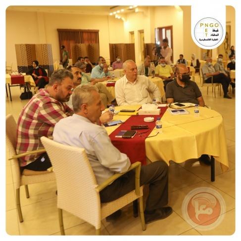 """الشبكة تنظم ورشة حول """"التحديات التي تواجه بلديات قطاع غزة في ظل الظروف الراهنة"""""""