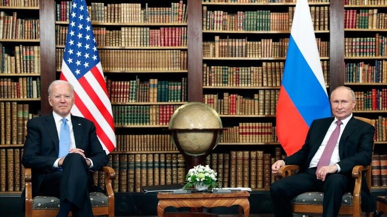 بوتين وبايدن: روسيا وامريكا بصدد إطلاق حوار حول الاستقرار الاستراتيجي