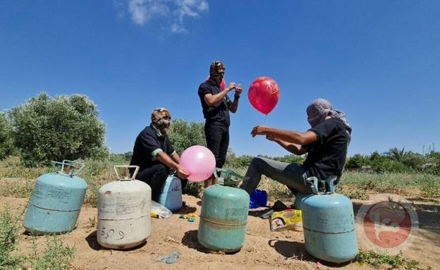 تقرير معا: إطلاق البالونات سوف يستمر وبطرق مختلفة واتصالات مصرية للتهدئة