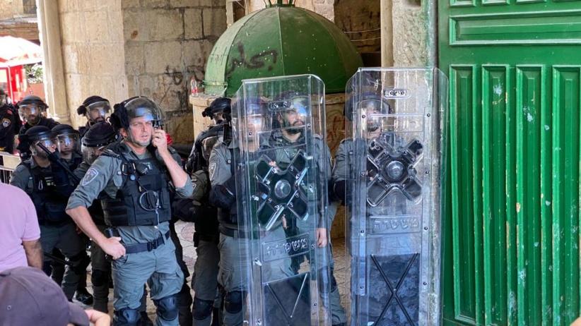 الاردن  تدين اعتداء الشرطة الاسرائيلية على المصلين في الأقصى