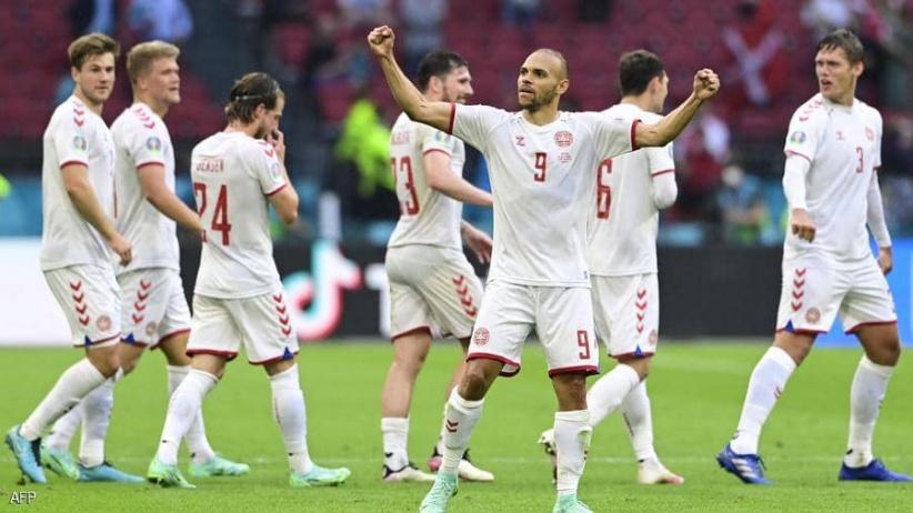 الدنمارك أول المتأهلين إلى ربع نهائي أمم أوروبا