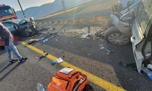 طبعون: مصرع شاب ورضيع في حادث طرق