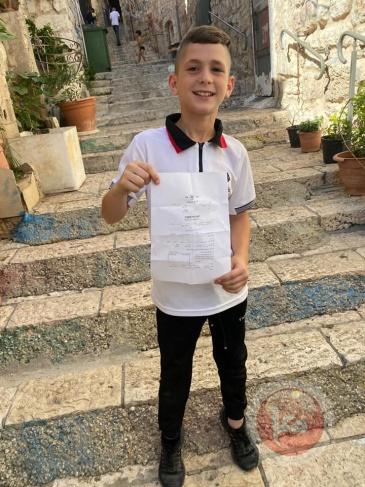القدس.. الاحتلال يستدعي طفلا للتحقيق