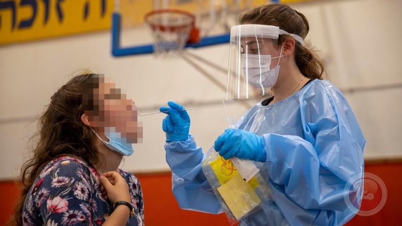 الصحة الاسرائيلية: تسجيل 915 إصابة جديدة بكورونا