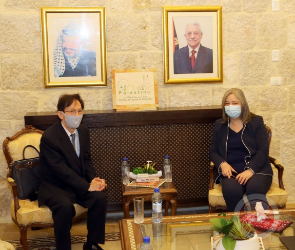 فلسطين واليابان تبحثان افاق التعاون السياحي لما بعد كورونا