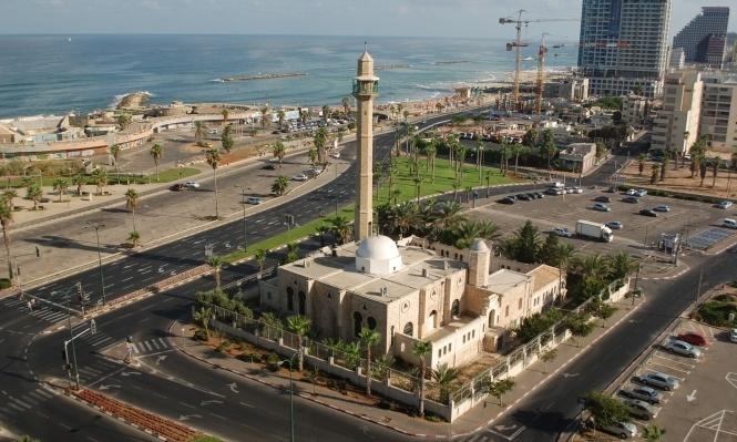 الاعتداء على مسجد حسن بك في يافا