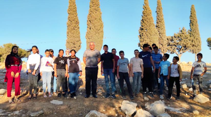 """انطلاق مخيم """" صحفي الغد """" في قرية دار صلاح بيت لحم"""