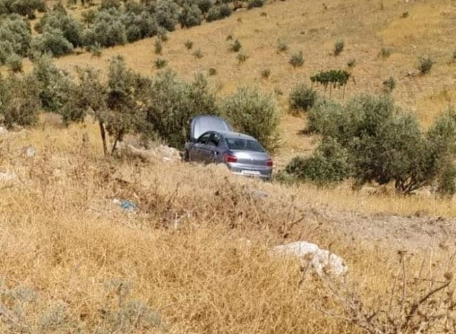 إصابة رئيس بلدية زعترة في حادث سير ذاتي
