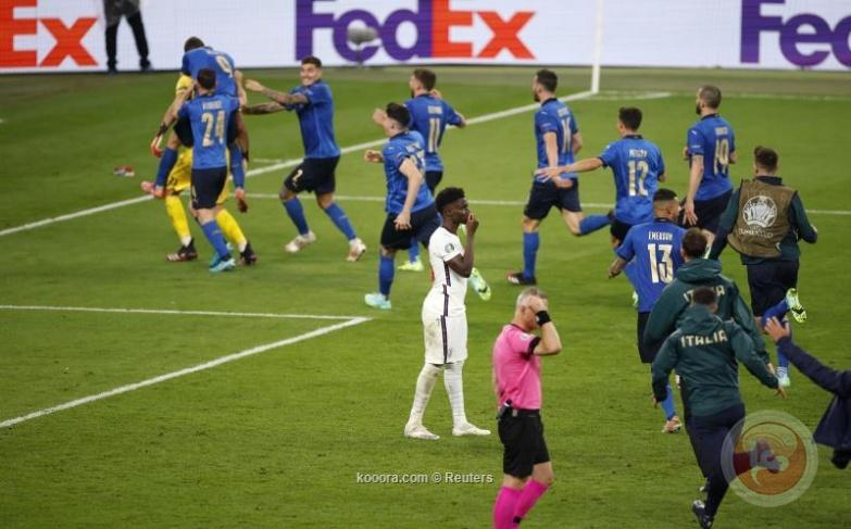 ركلات الترجيح تمنح إيطاليا لقب يورو 2020
