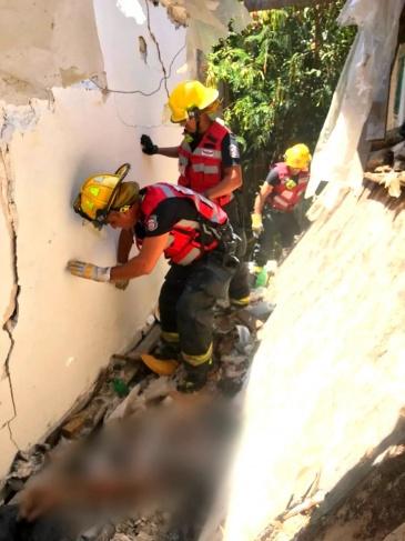 مصرع عامل (28 عامًا) اثر انهيار سقف في هرتسليا