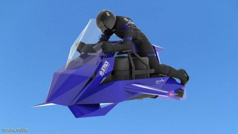 حلم الدراجة النارية الطائرة الشخصية يتحقق قريبا