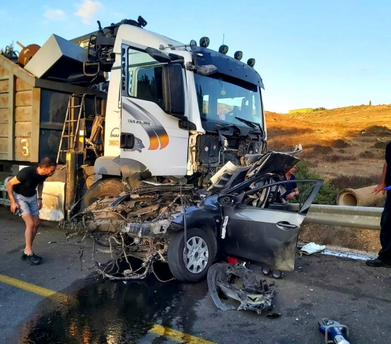 (صور) مصرع شاب جرّاء حادث طرق مروّع قرب يافة الناصرة