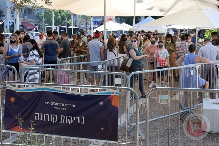 18 حالة وفاة و2000 إصابة بفيروس كورونا في اسرائيل