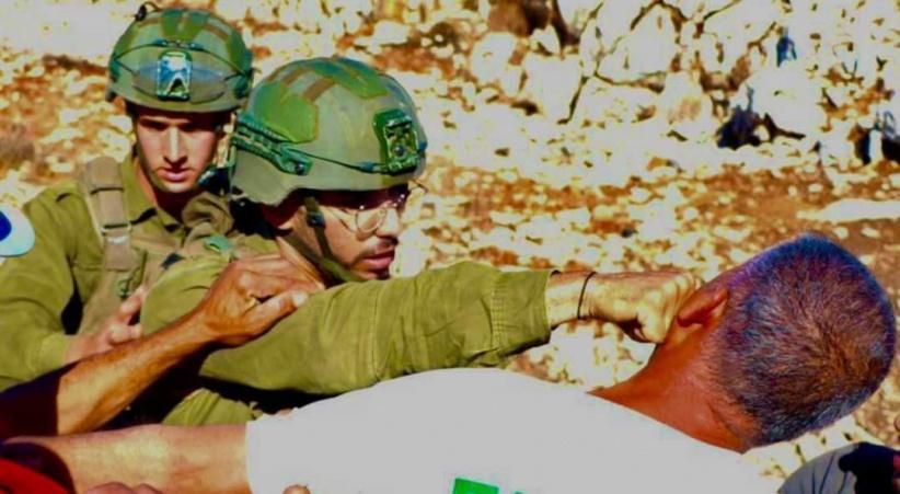 سلفيت.. إصابات واعتقالات خلال قمع فعالية مُساندة للمُزارعين