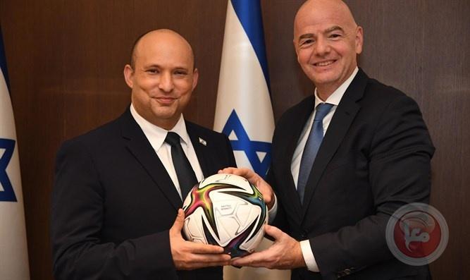 رئيس الفيفا يقترح على بينيت: إسرائيل تشارك في استضافة كأس العالم 2030 مع دول المنطقة