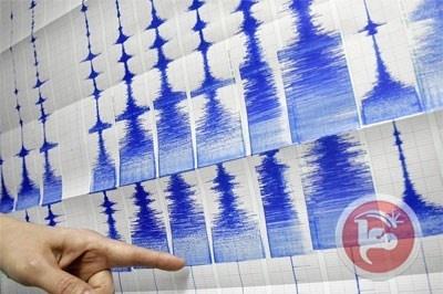 هزتان أرضيتان تضربان فلسطين