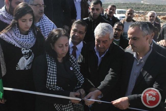 افتتاح غابة الشهيد أبو عين في ترمسعيا