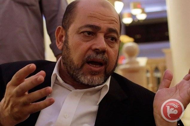 أبو مرزوق: دعم إيران لحماس متوقف