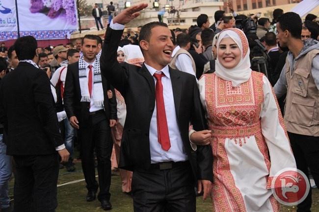 20778 عقد زواج في غزة عام 2015