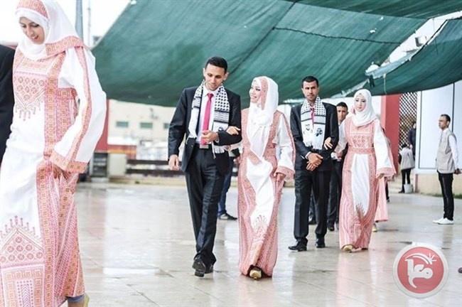 صور - عرس جماعي بغزة
