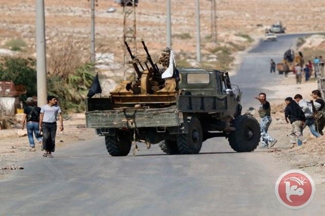 المقاتلات الروسية تنفذ أكثر من 60 هجوما في سوريا